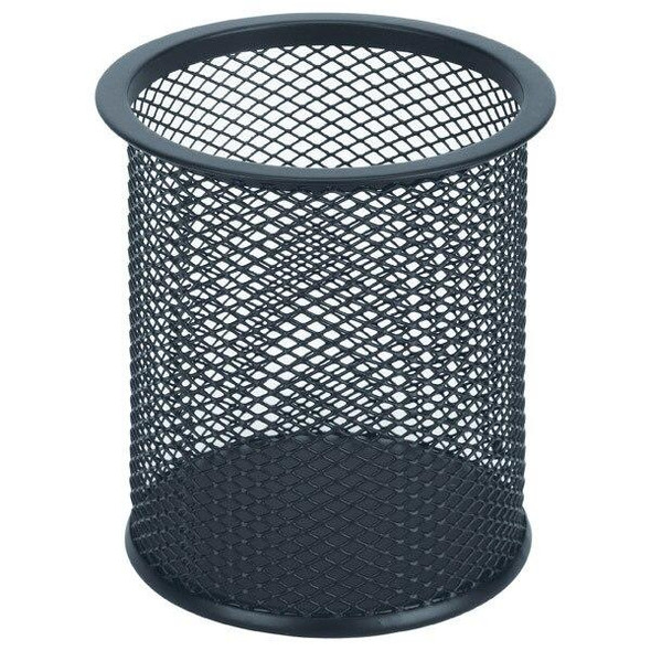 Esselte Mesh Pencil Cup Black 47547
