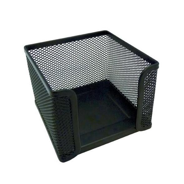 Esselte Mesh Memo Cube Only Black 47553
