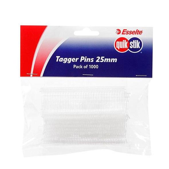 Quikstik Tagger Pin 25mm Pack1000 47610