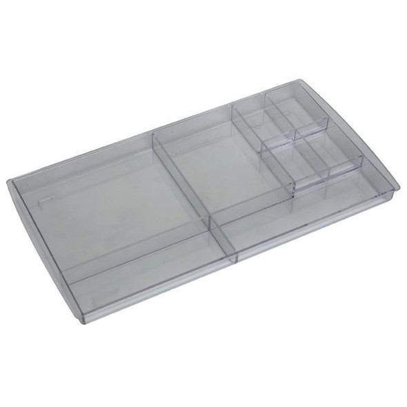 Esselte Nouveau Drawer Tidy Clear X CARTON of 6 48347