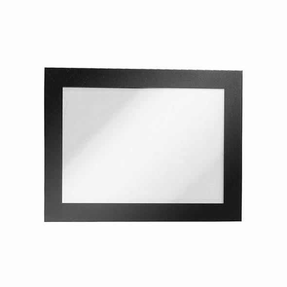 DURABLE Duraframe Self-Adhesive A6 Black 487001