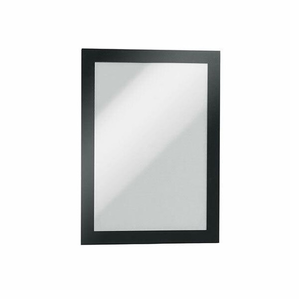 DURABLE Duraframe Self-Adhesive A5 Black 487101