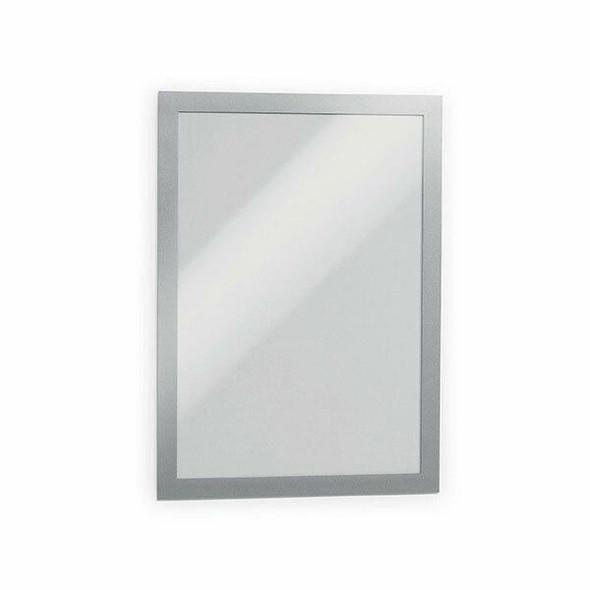 DURABLE Duraframe Self-Adhesive A4 Silver 487223