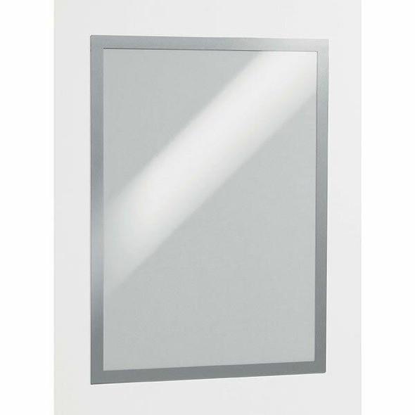 DURABLE Duraframe Self-Adhesive A3 Silver 487323