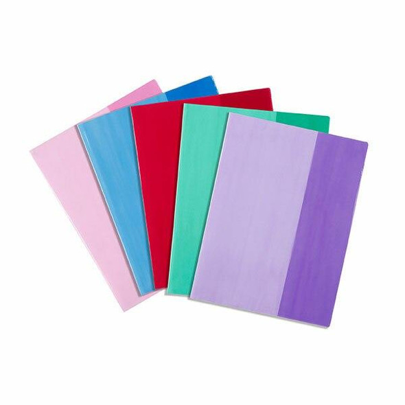 ConTact Book Sleeves Tints 9x7 Pack5 48863
