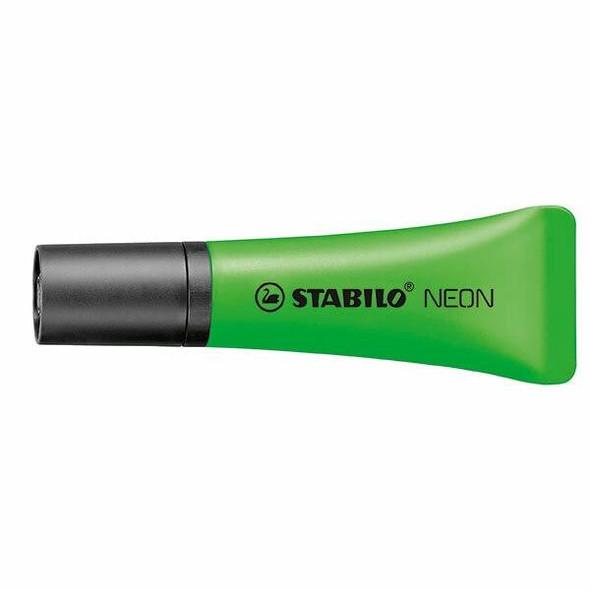STABILO Neon Highlighter Green Box10 48901