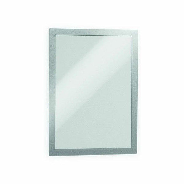 DURABLE Duraframe Self-Adhesive Retail Pack A4 Silver 489923