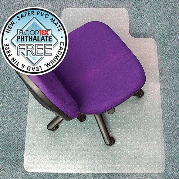 FLOORTEX Chairmat Advantagemat Pvc MediumKey 90x120cm 49383