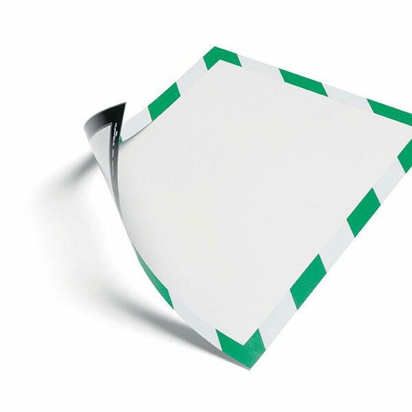 DURABLE Duraframe Magnetic Security A4 Green/White 4945131