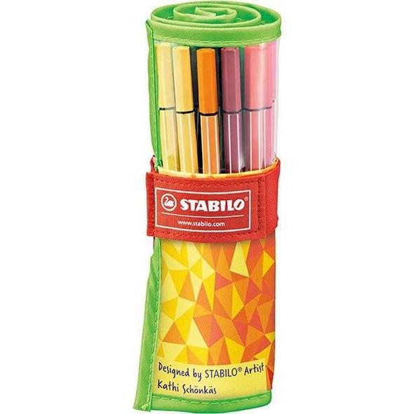 STABILO Pen 68 Rollerset Tangram X CARTON of 5 49694