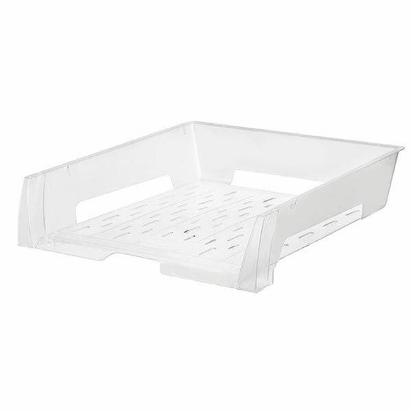 Esselte Document Tray A4 Clear X CARTON of 12 49846E