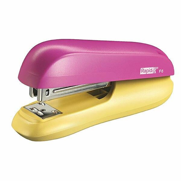 Rapid Stapler H/Strip F6 Pink/Yellow 5000365