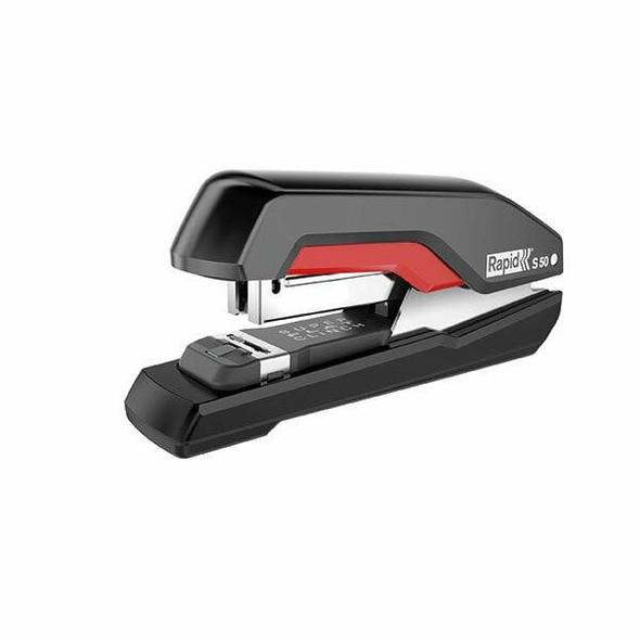Rapid Stapler H/Strip S50 Black/Red 5000544