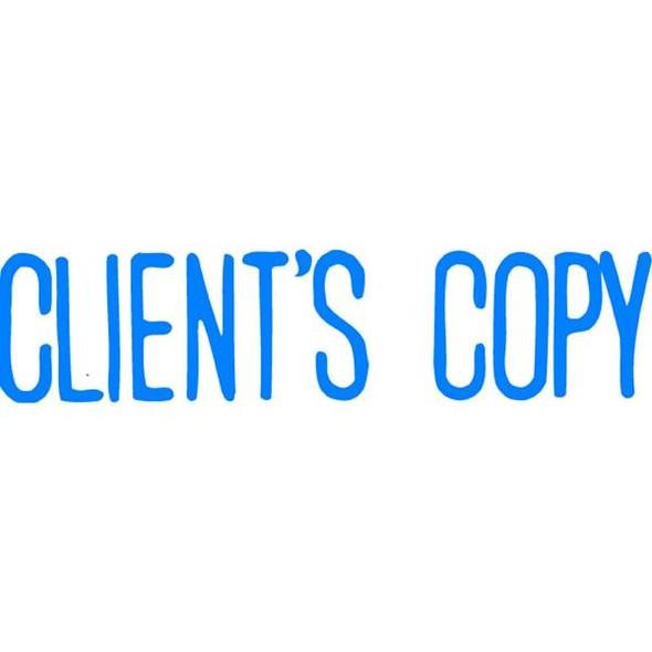 Xstamper Cx-Bn 1138 Clients Copy Blue 5011380