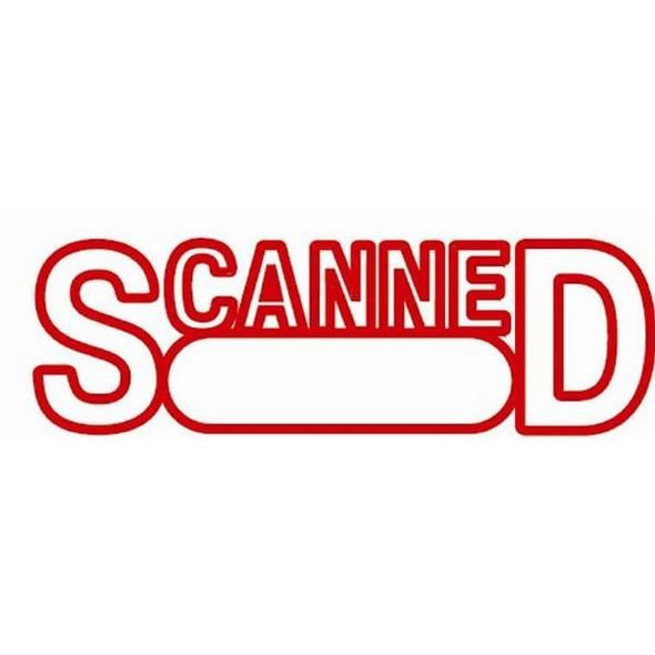 Xstamper Cx-Bn 1197 Scanned/Date Red 5011972