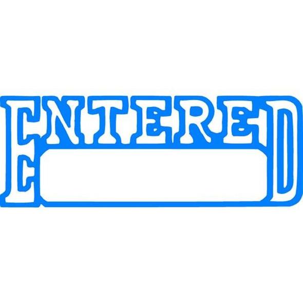 Xstamper Cx-Bn 1205 Entered/Date Blue 5012050