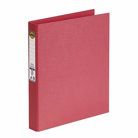Marbig Ring Binder A4 25mm 2d Pe Coral X CARTON of 20 5022029