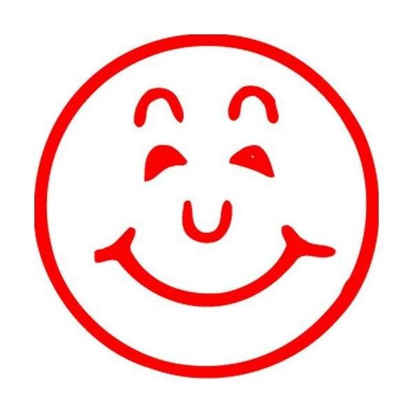 Xstamper Ce-16 11303 Smile Face Red 5113032