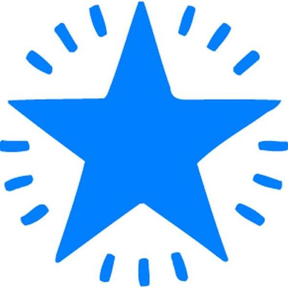 Xstamper Ce-16 11365 Twinkle Star Blue 5113653