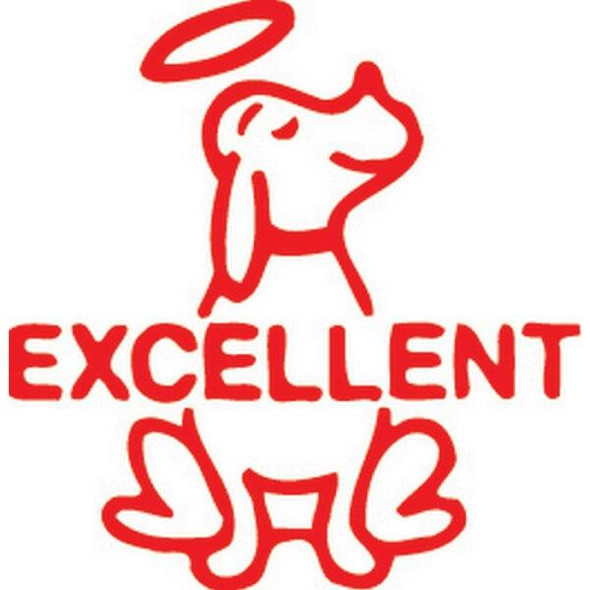 Xstamper Ce-16 11401 Dog Excellent Red 5114012