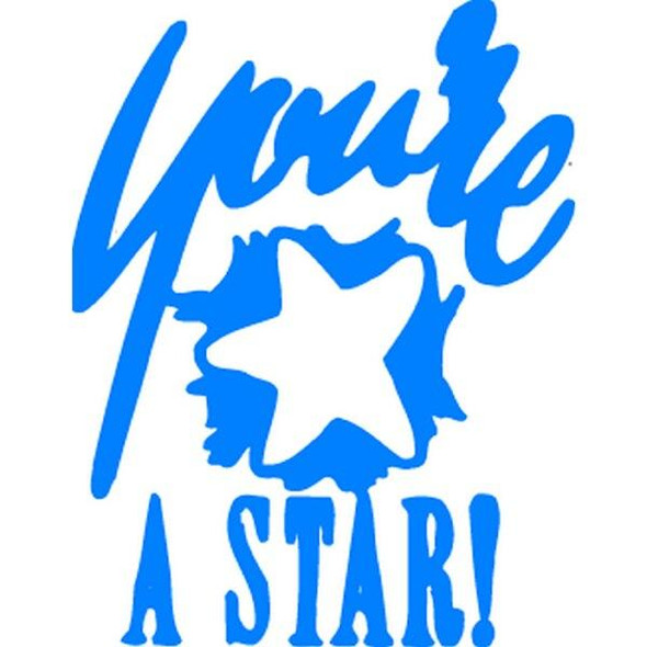 Xstamper Ce-16 11438 YouRe A Star Blue 5114383
