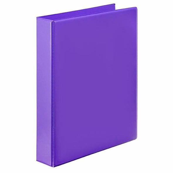 Marbig Clearview Insert Binder A4 25mm 2d Purple X CARTON of 20 5402019