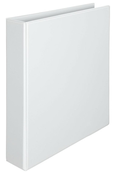 Marbig Clearview Insert Binder A4 38mm 3d White X CARTON of 12 5413008