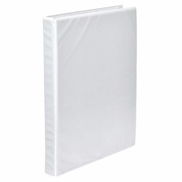 Marbig Clearview Insert Binder A4 19mm 2d White X CARTON of 20 5421908