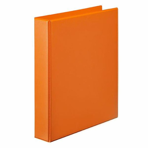 Marbig Clearview Insert Binder A4 50mm 4d Orange X CARTON of 12 5424006