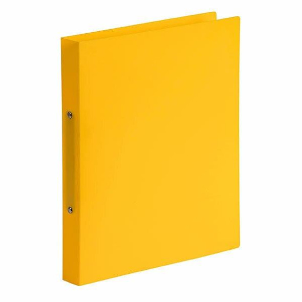 Marbig A4 Ring Binder 2d 25mm Lemon X CARTON of 6 5446505