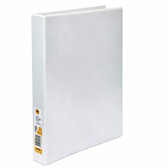 Marbig Clearview Insert Binder A3 Portrait 32mm 3d White X CARTON of 12 5510008