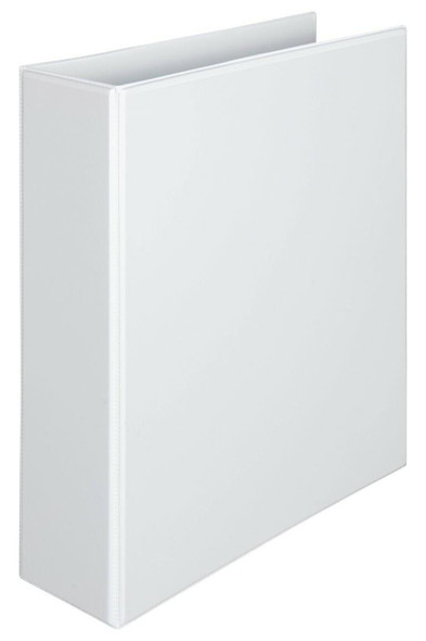 Marbig Clearview Insert Binder Hi-Cap 50mm 2d White X CARTON of 12 5522008