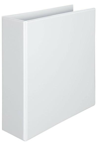 Marbig Clearview Insert Binder Hi-Cap 50mm 3d White X CARTON of 12 5523008