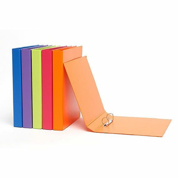 Marbig Ring Binder A4 2d 25mm Assorted X CARTON of 12 5530099