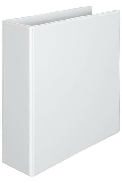 Marbig Clearview Insert Binder Hi-Cap 65mm 3d White X CARTON of 15 5536508