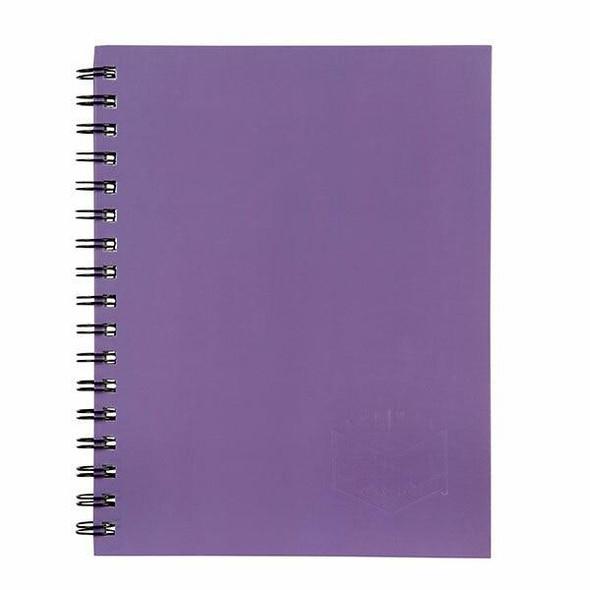 Spirax 511 Hard Cover Book Purple S/O X CARTON of 5 56511PUR