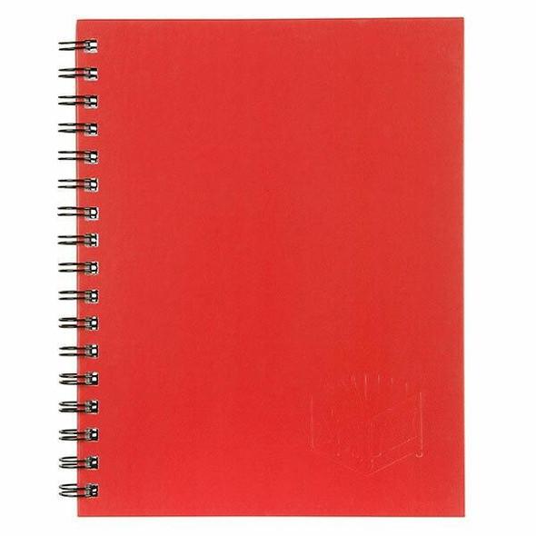 Spirax 511 Hard Cover Book Red S/O X CARTON of 5 56511R