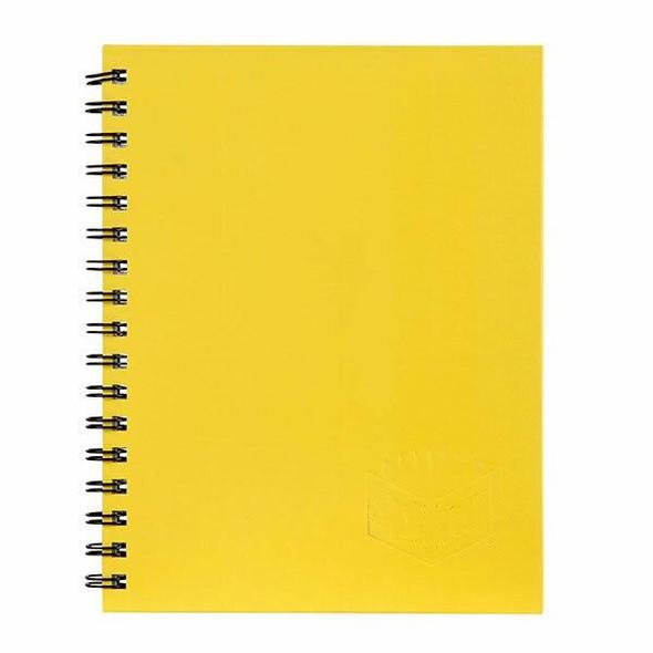 Spirax 511 Hard Cover Book Yellow S/O X CARTON of 5 56511Y