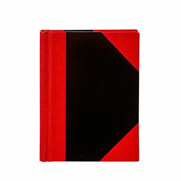 Spirax Casebound Notebook A7 Black And Red X CARTON of 5 56521