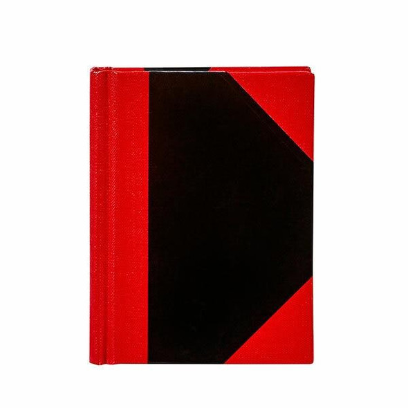 Spirax Casebound Notebook A4 Black And Red X CARTON of 5 56524