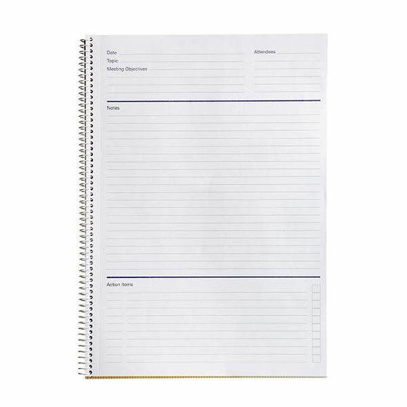 Spirax 705 Meeting Book A4 140 Page X CARTON of 5 565705