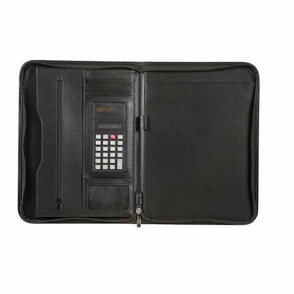 Spirax Slimline Zippered Notebook/Compendium A4 56914