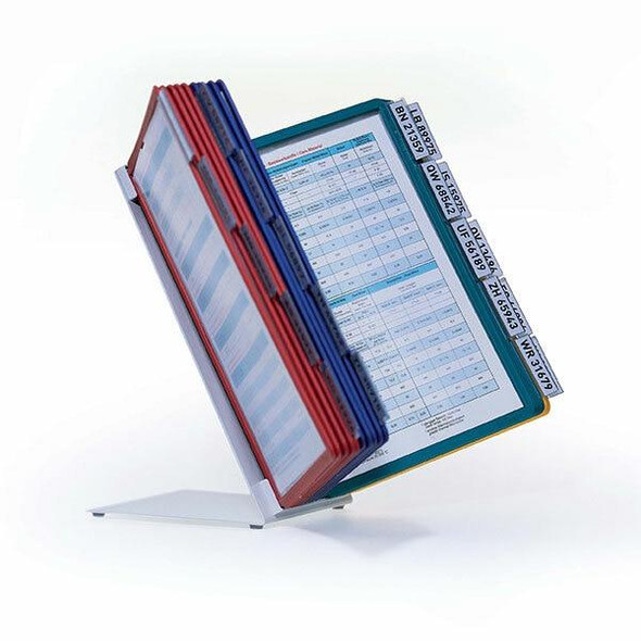 DURABLE Vario Table 20 A4 Display System Assorted Panels 569900