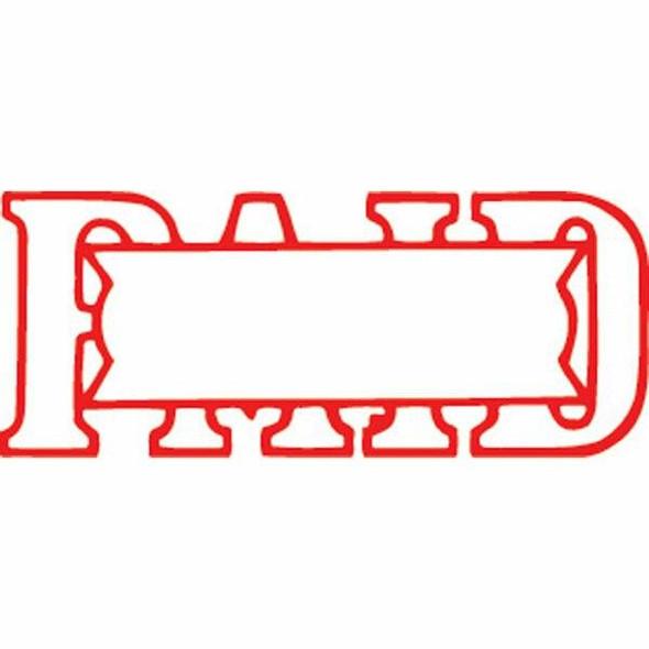 Xstamper Vx-B 1201 Paid/Date Hangsell Red 57120162