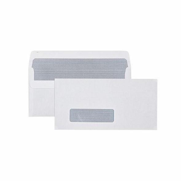 CUMBERLAND Self Seal Secretive Envelope 80gsm Dl 110 X 220mm White Box500 603214