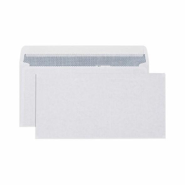 CUMBERLAND Pocket Envelope Secretive 90gsm Dl 110 X 220mm White 6033113