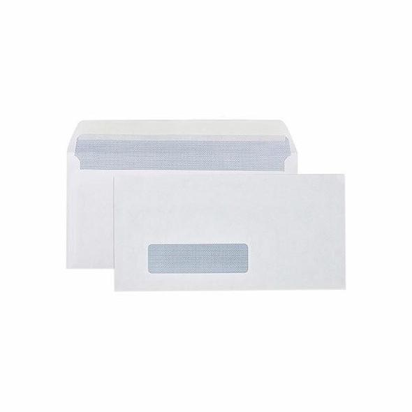 CUMBERLAND Strip Seal Secretive Envelope 80gsm Dl 110 X 220mm White Box500 603314