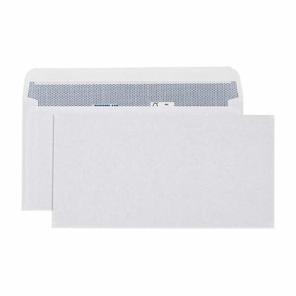 CUMBERLAND Laser Envelope Plain 90gsm Dlx 120 X 235mm White Box500 6053113