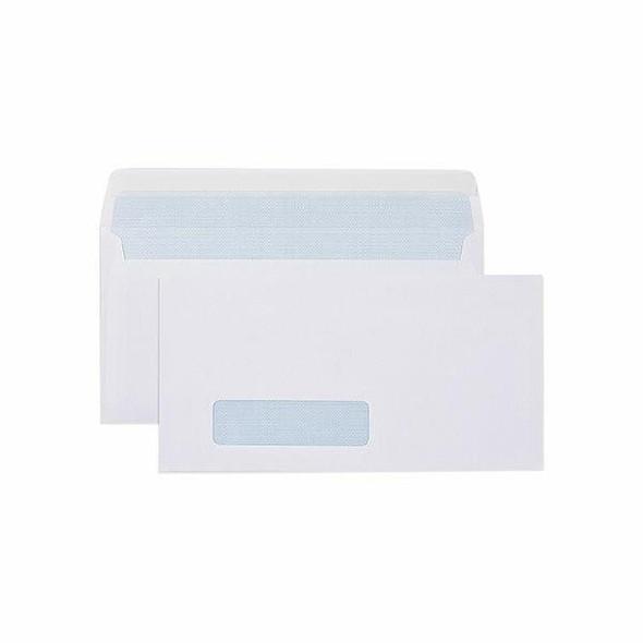 CUMBERLAND Strip Seal Correspondence 80gsm Dlx 120 X 235mm White Box500 605314