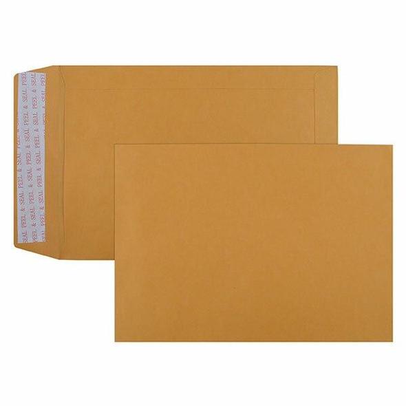 CUMBERLAND Strip Seal Pocket Envelope 85gsm C5 229 X 162mm Gold Box500 606322